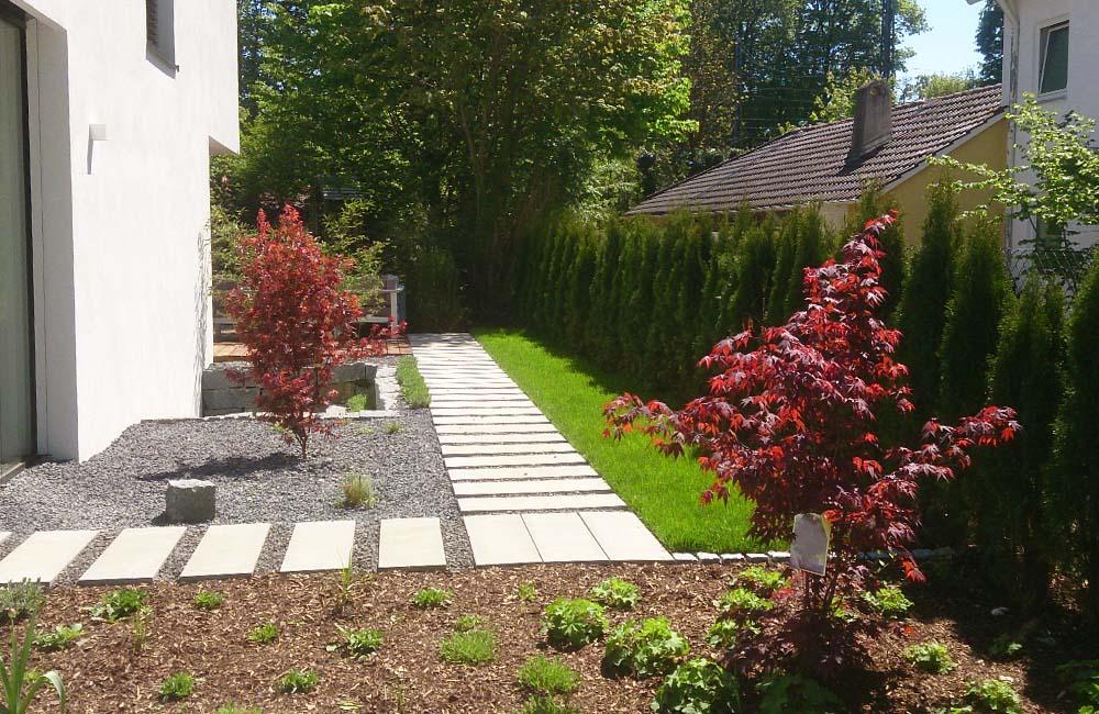 Gartengestaltung wagener for Gartengestaltung mit buchs und hortensien